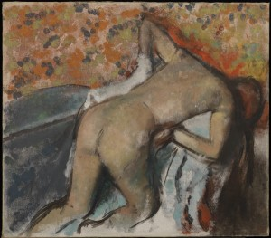 degas lady post washing