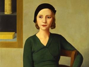 donna-al-caff-1931 Antonio Donghi