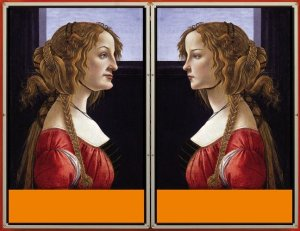 Michael Joaquin Grey computer generated Botticelli